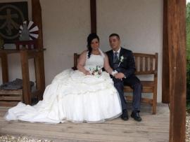 Huwelijk Angela en Silvester 2