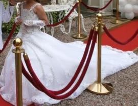 Eigen ontwerp Communie jurk Gypsy LU133K prijs op aanvraag