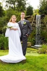 Huwelijk Gemmi en haar man Remco.