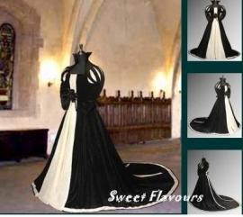 Tudor bruidsjurk 130