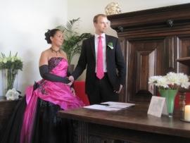Huwelijk Alice en Anton
