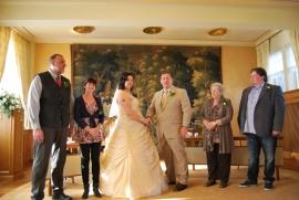 Huwelijk Rina en Eric