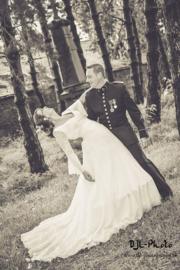 Huwelijk Sandrine en haar man.