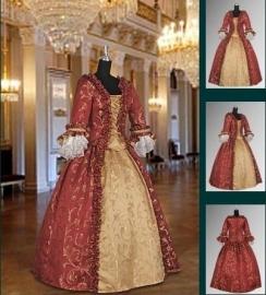 Baroque jurk 306