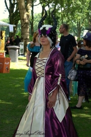 Regina op de Magic Fair Kasteel Limbricht