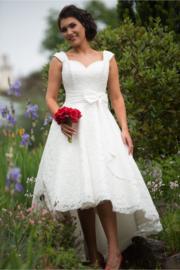 Bruidsjurk voor kort SK87