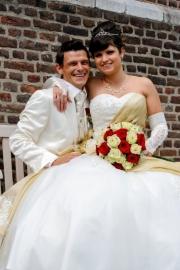Huwelijk Gini en Dennis