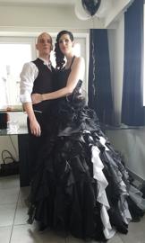 Huwelijk Zita en Benny.