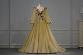 Bruidsjurk romantisch middeleeuws 7285