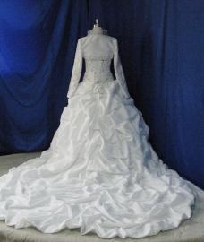Baroque bruidsjurk 15