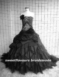 Bruidsjurk Gothic ZR109