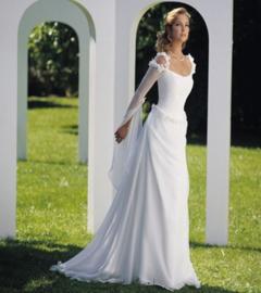 Bruidsjurk Keltische stijl CT97
