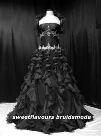 Bruidsjurk Gothic 90052Z