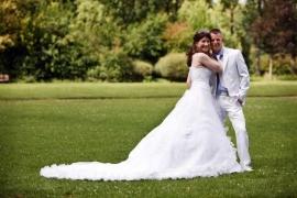 Huwelijk Wendy en Davy