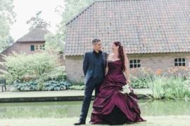 Huwelijk Margriet en Peter.