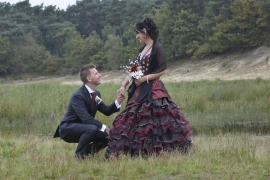 Huwelijk Lisette en Ronald