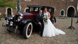 Huwelijk Ralph en Sylvana