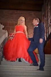 Huwelijk Jeanet en André.