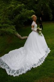 Huwelijk Gisela en haar man