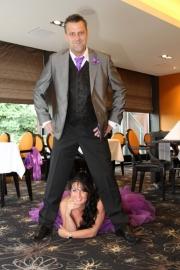 Huwelijk  Bianca en John.