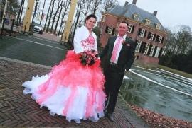 Huwelijk Jessica en Patrick
