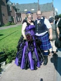 Huwelijk Ingeborg en Twan.