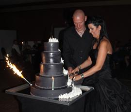 Huwelijk Cindy en Tom