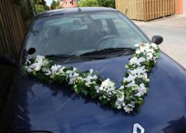 Bruidsauto stukken