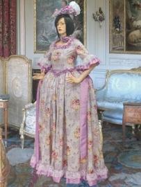 Franse Renaissance jurk 142
