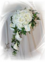 Zijden bruidsboeket 1106