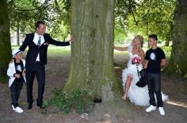 Huwelijk Simone en Rachid