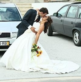 Huwelijk Suzanne en haar man