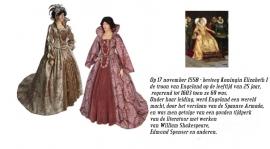 Renaissance jurk 912