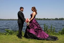 Huwelijk Sharon en Bonno