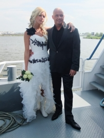 Huwelijk Cindy en Pascal