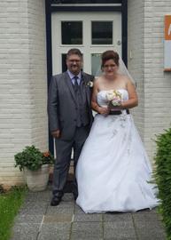 Huwelijk Marijke en haar man