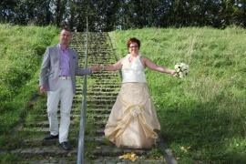 Huwelijk Kim en Marco
