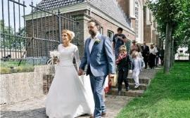 Huwelijk Pien en haar man