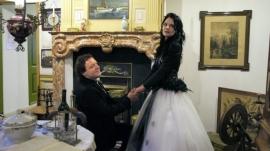 Huwelijk Leontine en Marco