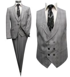 Schitterend 3 delig kostuum met ruit 1023