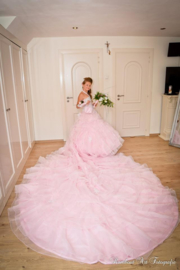 Eigen ontwerp Communie jurk Gypsy LI21-2 prijs op aanvraag