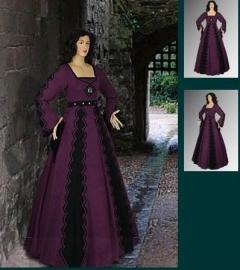 Italiaanse stijl jurk 33a