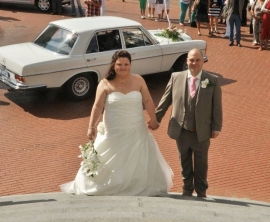 Huwelijk Stephanie en Pierre