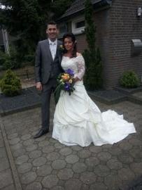 Huwelijk Elvira en haar man
