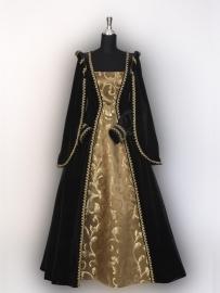 Renaissance;Tudor jurk ZW231