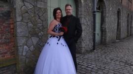 Huwelijk Cindy en Domien