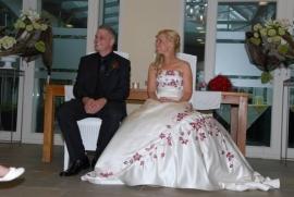 Huwelijk Sylvia en Ruben