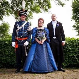 Victoriaans huwelijk Leandra en Maarten 3