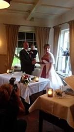 Huwelijk Sascha en haar man