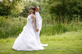 Huwelijk Wendy en Davy 2